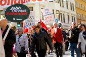The Social Democrats  May Day in Sodertalje, Sweden, 2012 — Stock Photo