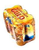 Six-pack of beer — Stock Photo