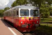 Railcar type Y1 — Stock Photo