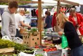 Farmers' markets — Stock Photo