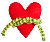 Valentines Day Handmade Heart. Love concept. — Stock Photo