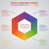 Infographic Templates for Business Vector Illustration. EPS10 — Stock Vector