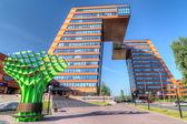 Novosibisk State University techno Park Building — Stock Photo