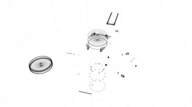 Watch pieces assembled together — Stock Video