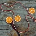 Earrings and pendant  handmade — Stock Photo #70895395