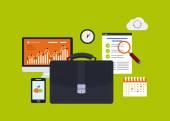 Business-elemente — Stockvektor