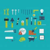 Tools and  repair  icons — Stock Vector