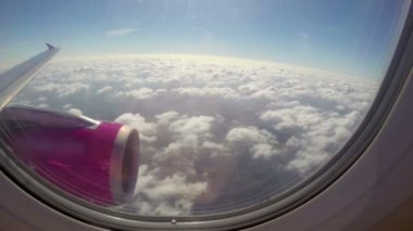 Beautiful clouds — Stock Video