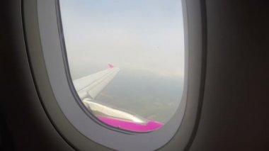 Aircraft turbulence — Stock Video