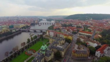 Prague's old town — Stock Video