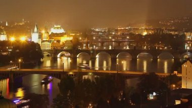 Prague timelapse — Stock Video