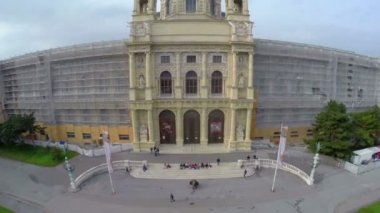 Vienna square — Stockvideo