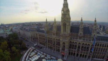 Vienna architecture — Stock Video