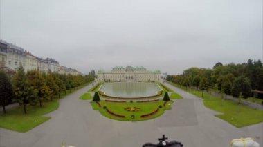 Austria Belvedere Palace — Stock Video