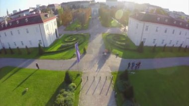 Vienna From Above — Stock Video