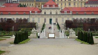 Royal Palace Belvedere — Stock Video