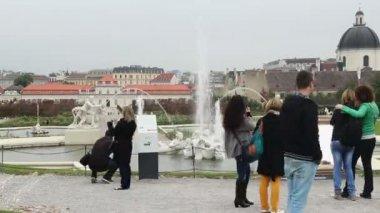 Tourist Taking Photos — Stock Video