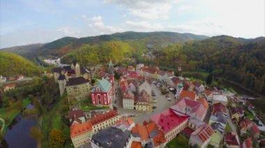 Old European town — Stock Video