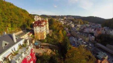 Karlovy Vary — Stock Video