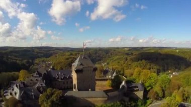 Burg Castle in Solingen, Germany — Stock Video