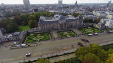 Brussels Royal Palace — Stock Video