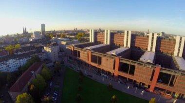 Panoramę miasta Kolonia — Wideo stockowe