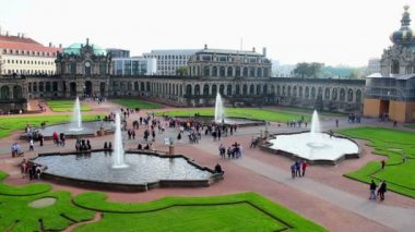 Royal Palace in Dresden — Stock Video