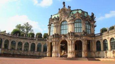 German Rococo Royal Palace — Stock Video