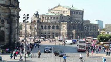 Dresden Opera House — Stock Video