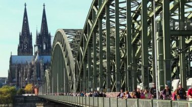 City symbol Cologne — Stock Video