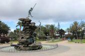 Guanches pomnik — Zdjęcie stockowe