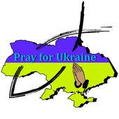 Hands, fish, Ukraine- Pray for Ukraine — Vecteur