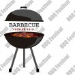 BBQ Festival vector illustration background — Vector de stock  #77911136