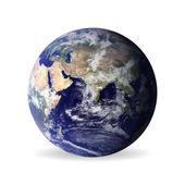 Erde mit Schatten, Elemente dieses Vektors, eingerichtet von der Nasa — Stockvektor