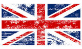 Flag of the Great Britain vintage style — Stock Vector