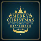 Merry Christmas holidays greeting card vector background — Zdjęcie stockowe