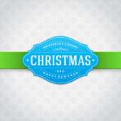 Merry Christmas vintage background — Stock Photo