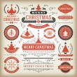 Christmas decoration vector design elements — Stock Photo #57519523