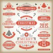 Christmas decoration vector design elements — Stock Photo #57519591