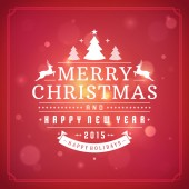 Christmas greeting card light vector background — Stock Photo
