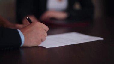 Signature — Stock Video