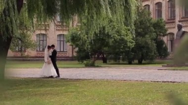 Just married — Stock Video