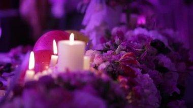 Romantic evening — Stock Video