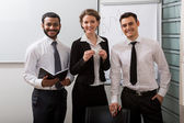 Team of business coaches. — Stock Photo