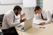 Failure of the of businessmen. — Stock Photo
