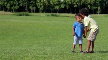 Happy kids. — Stock Video