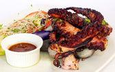 Octopus BBQ Peruvian Dish — Stock Photo