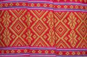 Thai fabric texture — Stock Photo