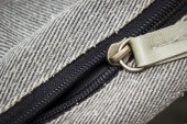 Close up zipper — Stock Photo