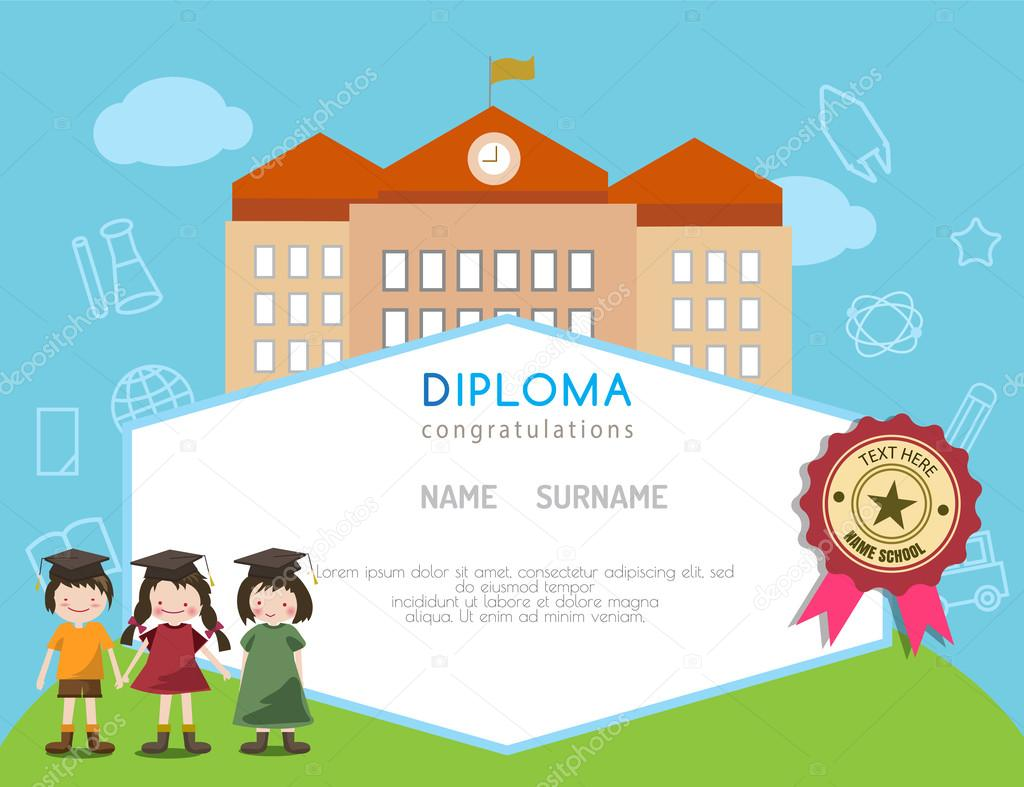 School Certificates Templates